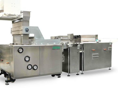 Rotary moulding machine